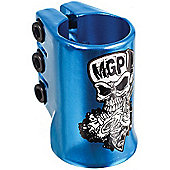 Madd Gear Madd Hatter Triple HIC Scooter Clamp - Blue