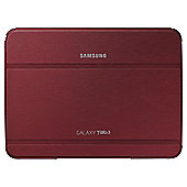 "Samsung Case Cover with Stand for Samsung Galaxy Tab 3 10.1"" - Garnet Red"