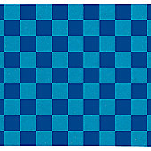 "Enuff Skateboard Grip Tape - 9"" x 33"" Sheet - Chequered Blue"