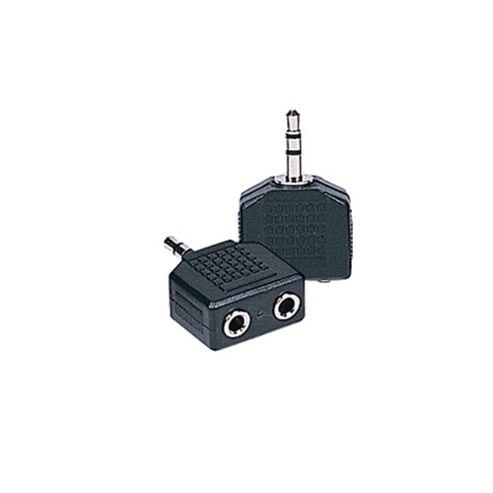 2 Mini Jack to Mini Jack Adaptor