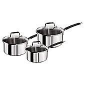 Jamie Oliver Stainless Steel Pan Set 3 piece