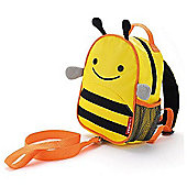 Skip Hop Zoolet Toddler Backpack with Rein, Bee