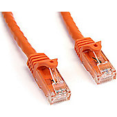 StarTech ETL Verified 75-feet Snagless Cat6 UTP Patch Cable - Orange