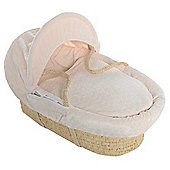 Isabella Alicia Maize Moses Basket (Bubble Cream)
