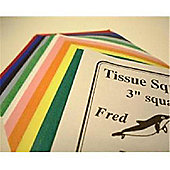 Tissue Squares 100mm (4 Inch)