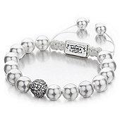 Shimla Ladies Shell Pearl Bracelet with Fireball - SH-088