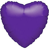 Purple Quartz Heart Balloon - 18' Foil (each)