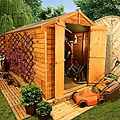 BillyOh 400 9 x 10 Windowless Overlap Apex Shed