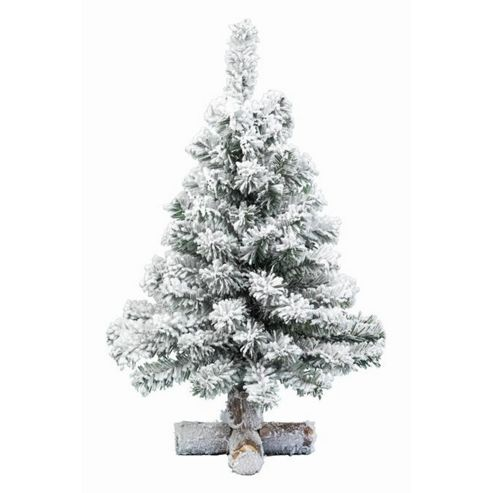 buy 60cm mini artificial snowy christmas tree from our. Black Bedroom Furniture Sets. Home Design Ideas