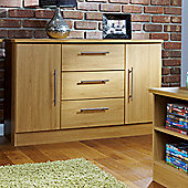Welcome Furniture Living Room 2 Door / 3 Drawer Unit - Modern Oak