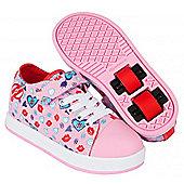 Heelys Spiffy Pink/Diamond Print Kids Heely X2 Shoe - Pink