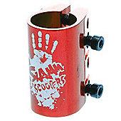 Slamm Quad Collar Clamp - Anodised Red