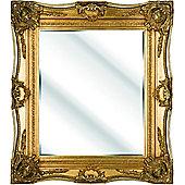 D & J Simons Eton Mirror - Gold - 117cm H x 87cm W