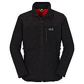 Jack Wolfskin Mens Blizzard Fleece Jacket - Black