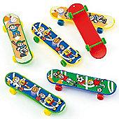 Party Bag Finger Skateboards (Pack of 6)