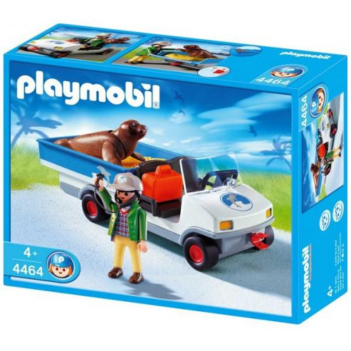 Zoo 4464: Zookeeper Caddy - Playmobil