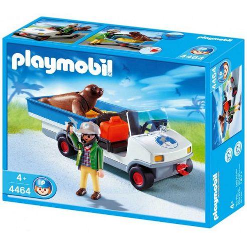Zoo 4464: Zookeeper Caddy - Playmobil
