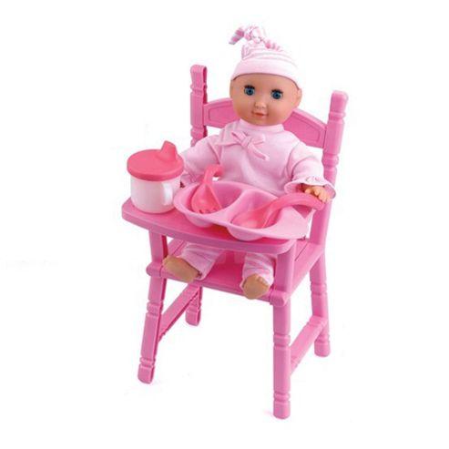 Buy Dolls World Feeding Time Freya Doll With High Chair