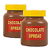 Bigjigs Toys Spreads (Pack of 2 - Chocolate Spread)