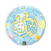 "18"" It's A Boy - Soft Giraffe (each)"