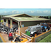 Brushwood Bt8600 Covered Collecting Yard - 1:32 Farm Toys