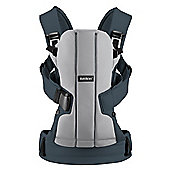 Baby Bjorn Baby Carrier We (Silver/Dark Grey)