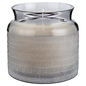 Tesco Candle Jar Grey