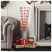 Tesco Blossom Twigs Christmas Decoration
