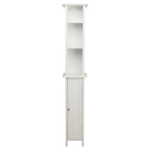 Buy Southwold Bathroom Tall Boy Storage Unit White Tongue