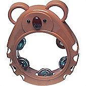 Percussion Plus PP1017 Bambina Brown Koala Tambourine