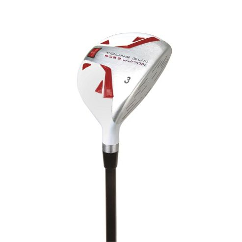 Young Gun Sgs V2 Junior Golf Club 3 Wood Right Hand Red Age 9-11