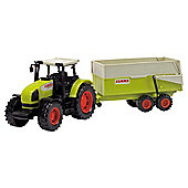 Claas Tractor and Trailer Set