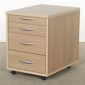 Urbane Designs Alpha 4 Drawer Filing Cabinet