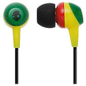 Skullcandy Jib Rasta Headphones