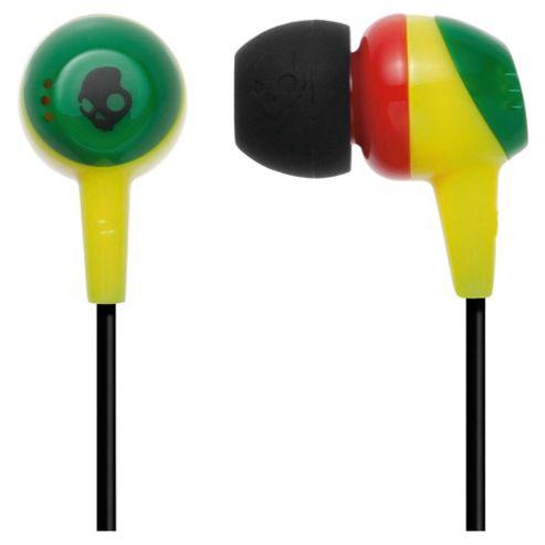 Skullcandy Jib Rasta Headphones Multi-coloured
