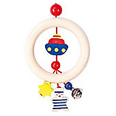 Heimess 762980 Wooden Ring Rattle (Sailor)