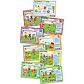 PLAYM8 5 A Day Character Cards