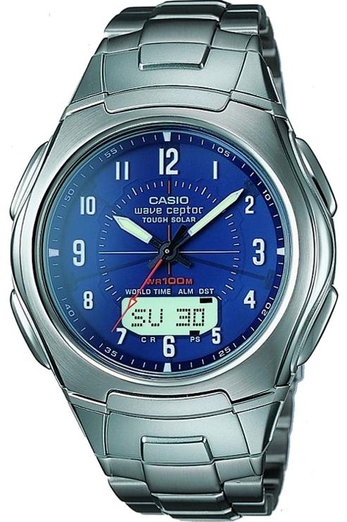 Casio Computer WVA-430DU-2A2VER Wave Ceptor Watch