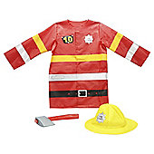 Preschool Play - Fire Fighter Costume