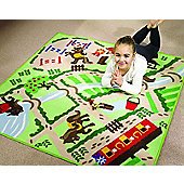 Horse and Pony Play Mat 133 x 133 cm