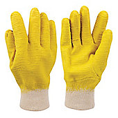 Silverline Crinkle Coat Glove Large