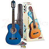 Stagg Classical Guitar Pack 1/4 Blue