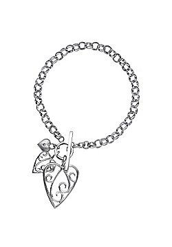 Lily & Lotty Sterling Silver 0.01ct Diamond AIMEE Bracelet