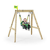 TP Forest Acorn Growable Swing Frame with Early Fun Baby Swing Seat & Deluxe Swing Seat