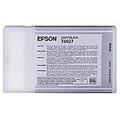 Epson T6027 Light Black Ink Cartridge for Stylus Pro 7800/9800