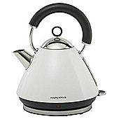 Morphy Richards Accents Traditional Pyramid Kettle - White