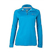 Pursuit Womens Light Stretch Top - Blue