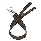 Dress Zip - 46cm - Brown