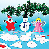 3D Christmas Tree Hanging Decorations (12 Pcs)