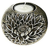Flower - 3d Metallic Tea Light Holder - Sunflower
